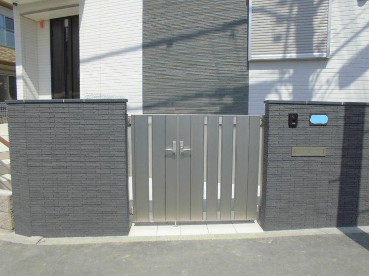 外構工事で門扉を取り付ける際の費用や相場・価格帯を紹介 ...
