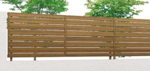 木彫フェンス